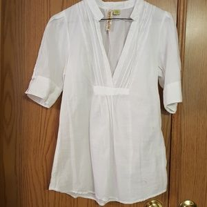 Cute Eyeshadow Junior's cotton blouse